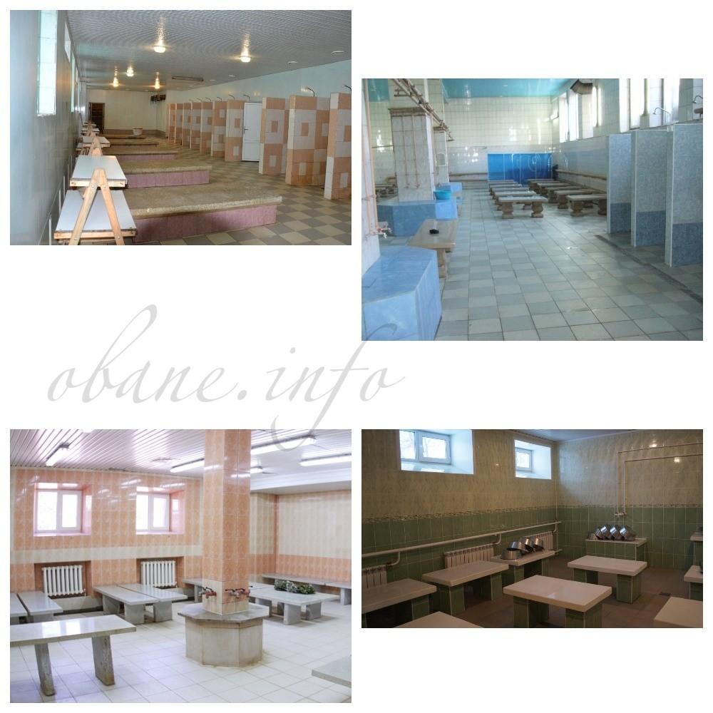 Комнаты в общественной бани