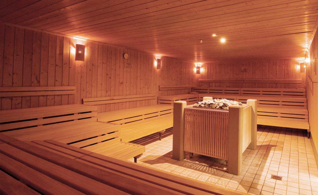 Помещение парной в бане