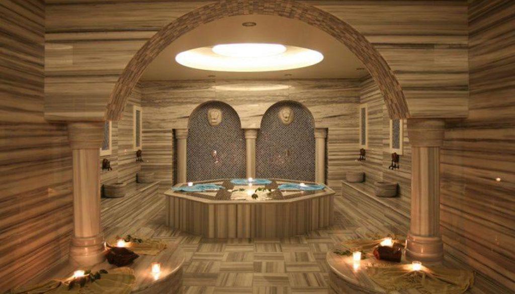 Мраморная турецкая баня