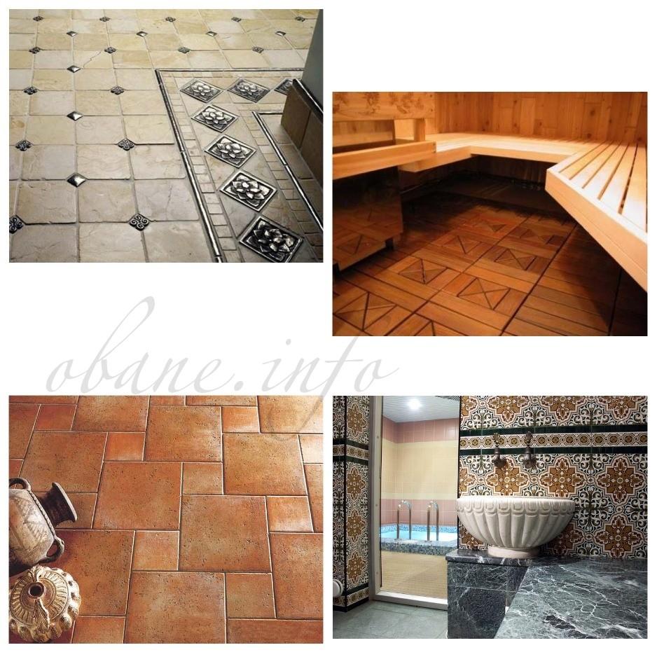 Варианты керамической плитки