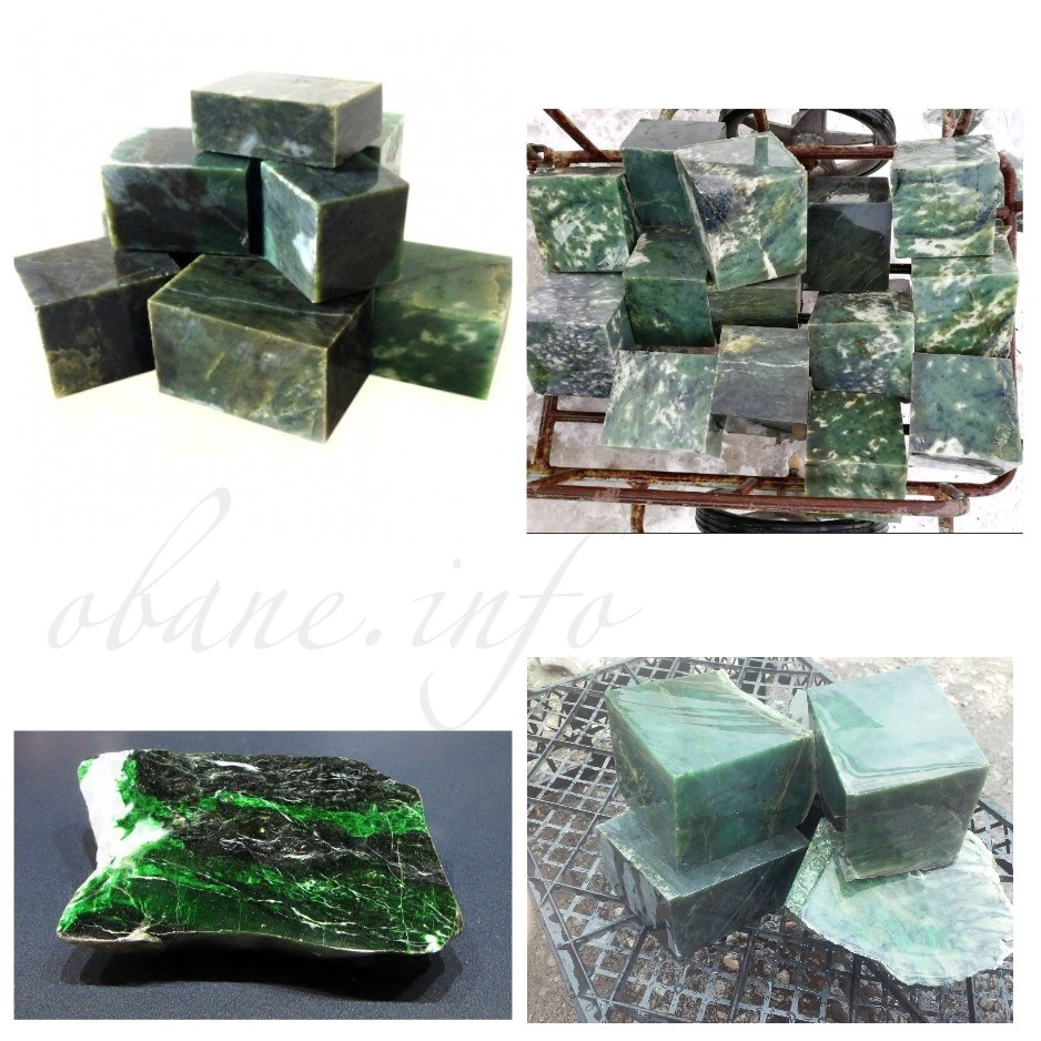Разные формы камня