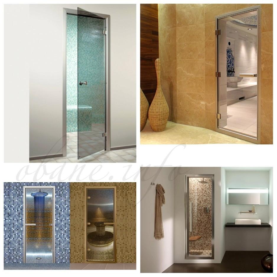 Красивые двери из стекла