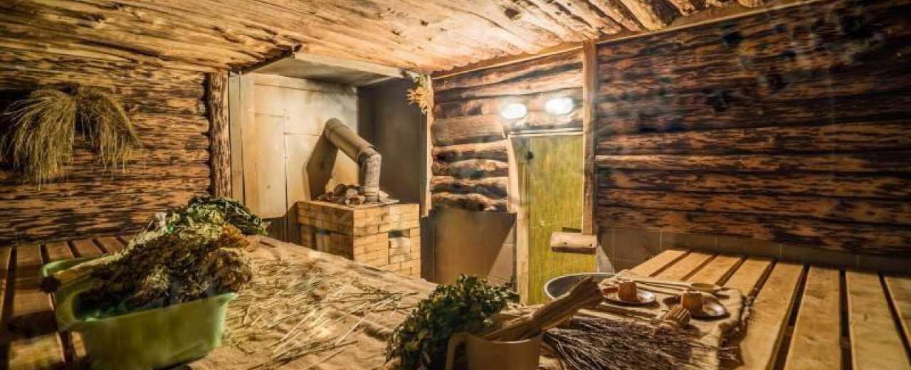 Как выглядит русская баня изнутри