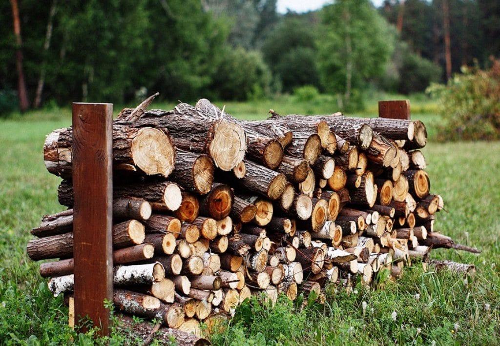 Готовим дрова на зиму