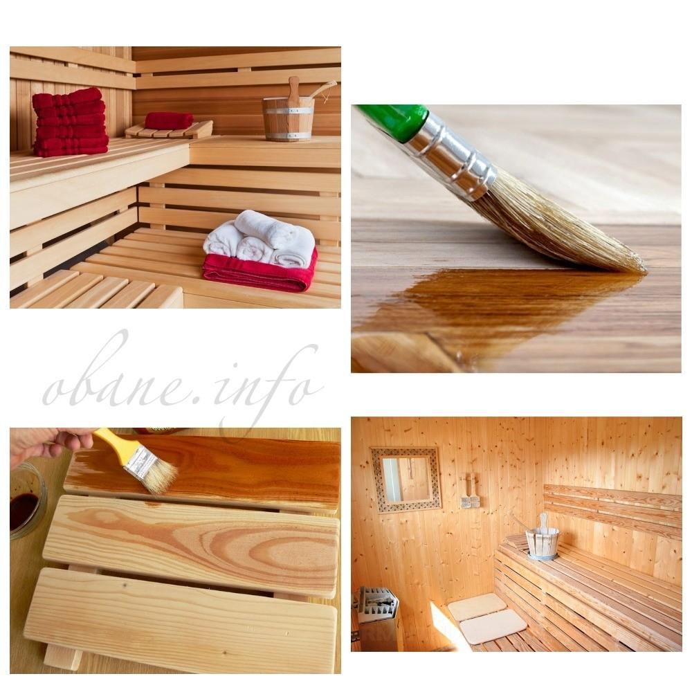 Наносим средство на древесину