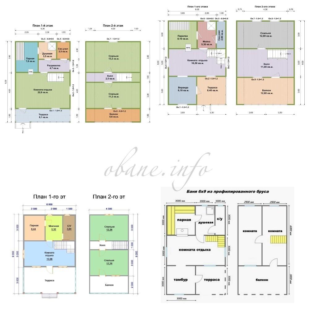 Проект первого и второго этажа