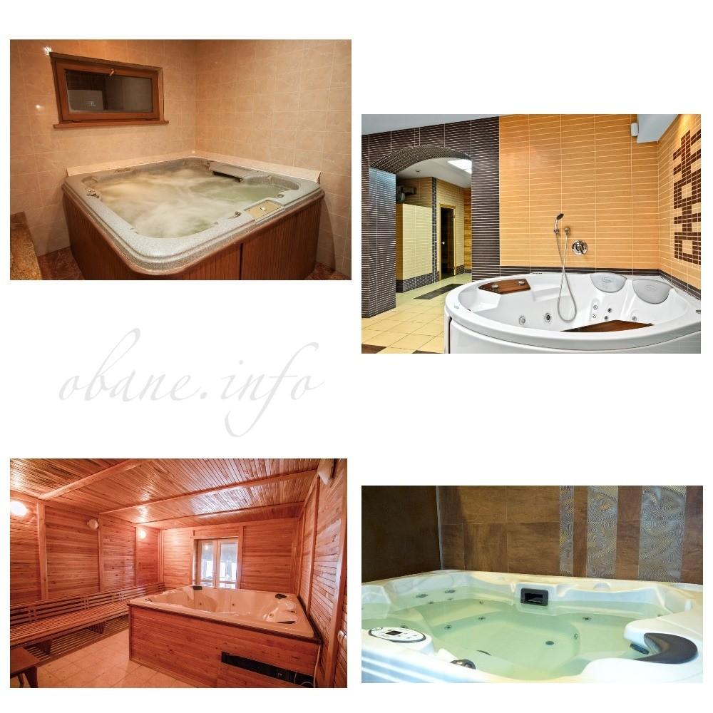 Какие бывают ванные с джакузи