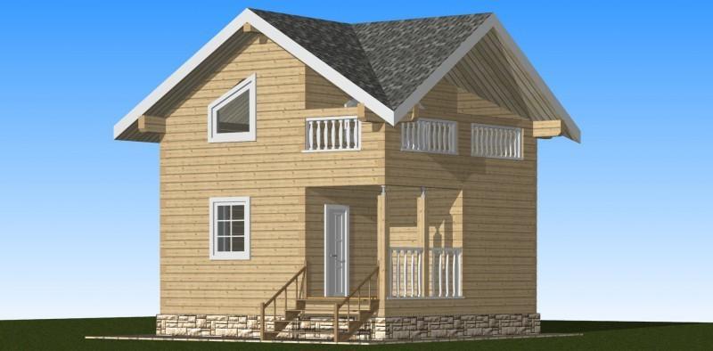 Двухэтажное строение
