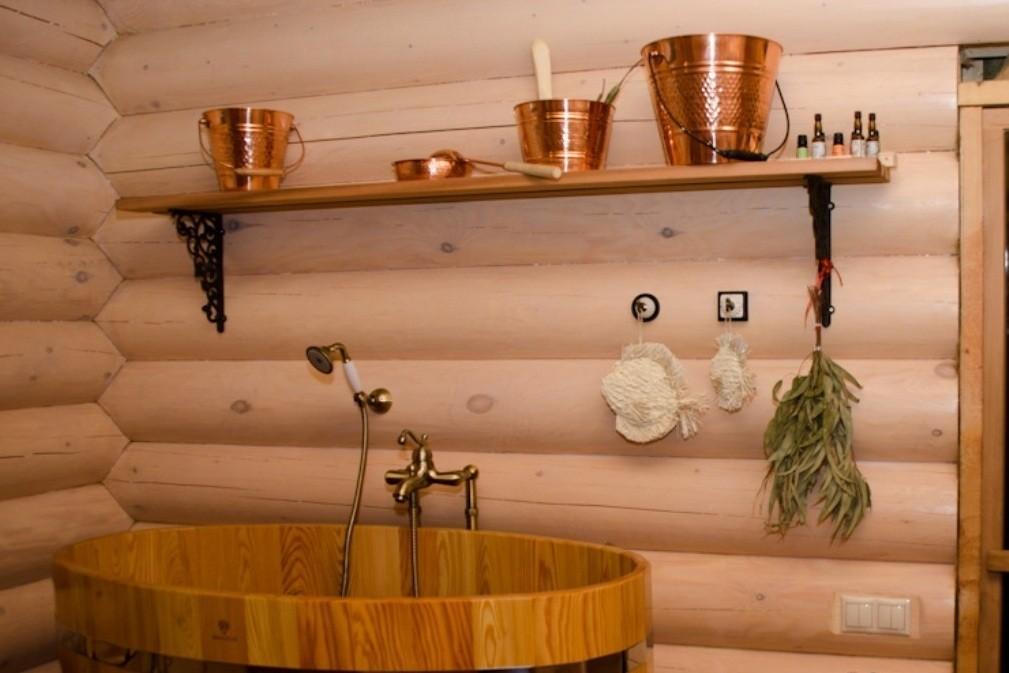 Деревянная банька