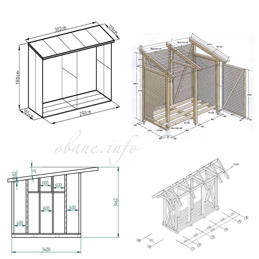 Различные схемы конструкций