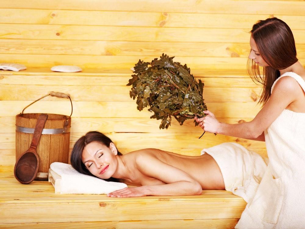 Процесс парения в бане