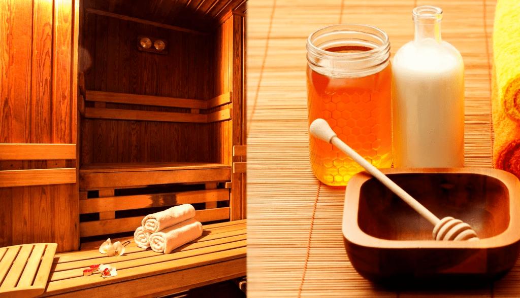 Парная и мед