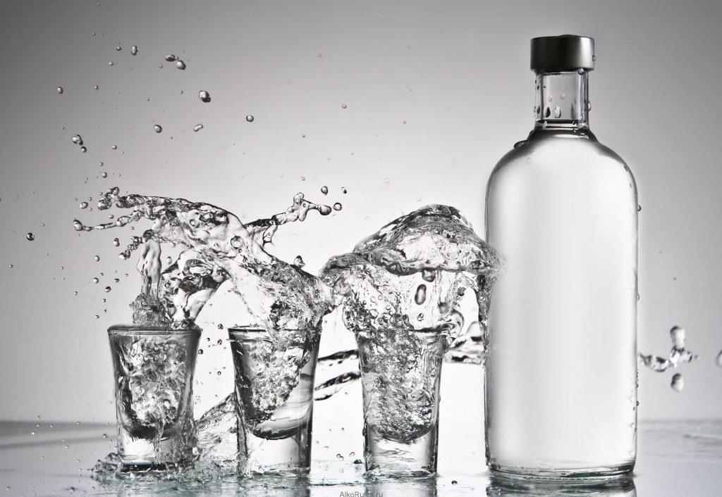Водка в бутылке