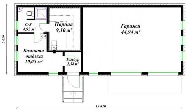 Готовый план строительства